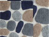 Blue Grey Bath Rug Chesapeake Rug 21×34 24×40 Blue Sienna