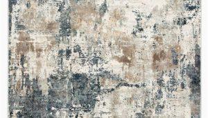 Blue Grey Beige area Rug Sisario Abstract Blue & Gray area Rug