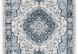 Blue Grey Rug Wayfair Delmer Blue area Rug
