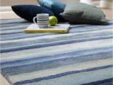 Blue Grey Wool Rug Review Ultimate Stripe 01 Blue Grey Wool Rug by