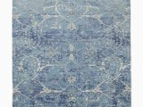 Blue Hand Knotted Wool Rug Amelia Hand Knotted Rug