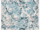 Blue Ivory area Rug Cohan Blue Ivory area Rug