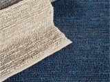 Blue Jute area Rug Continental Collection Jute area Rug In Midnight Blue