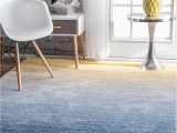 Blue Ombre Rug 8×10 Nuloom Hand Tufted Ombre Shag Rug 8 X 10 Navy
