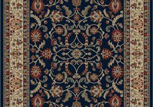 Blue oriental area Rugs Dean Classic Keshan Navy Blue oriental area Rug Landing Mat