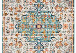 Blue oriental area Rugs Gutierez oriental Gray Light Blue orange area Rug