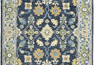 Blue oriental area Rugs oriental Weavers Alfresco area Rugs