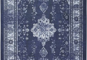 Blue oriental area Rugs Pippin oriental Looped Hooked Blue area Rug