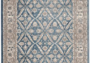 Blue oriental area Rugs Statham oriental Blue Beige area Rug