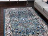 Blue oriental Rugs 8×10 8 X 10 Nain Design Rug