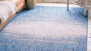Blue Outdoor Rugs On Sale Blue 7 X 10 Outdoor Modern Rug
