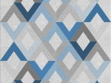 Blue Pattern area Rug Patterned Blue Gray area Rug