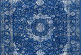 Blue Persian area Rug Bosphorus Distressed Persian Blue Rug