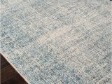 Blue Print area Rugs Britta Oland White Ice Blue Print area Rug