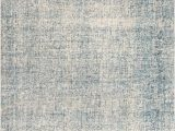 Blue Print area Rugs Oland Handmade Abstract Blue & Light Gray area Rug – Burke Decor