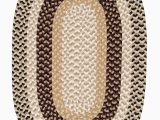 Blue Ridge Braided Rugs Burmingham Neutral tone 8ft Round Braided Rugs Find Sale