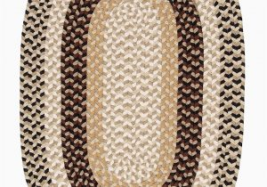 Blue Ridge Braided Rugs Burmingham Neutral tone 8ft Round Braided Rugs Find Sale