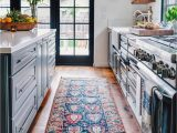 Blue Rugs for Kitchen This Kitchen Rug Blue and White Plate some Open Shelving