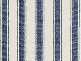 Blue Stripe Cotton Rug Blue Awning Stripe Cotton Rug