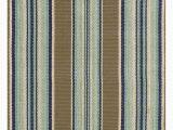 Blue Stripe Cotton Rug Dash & Albert Blue Heron Stripe Cotton Rug In 2020
