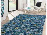 Blue Wool Rug 9 X 12 Abc Transitional Blue Sari Silk Wool Rug 9 X 12