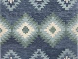 Blue Wool Rug 9 X 12 Lo9997 Color Blue Size 9 X 12 In 2020 with Images