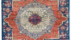 Blue Wool Runner Rug Mamluk Navy Blue Wool Short Runner Rug