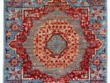 Blue Wool Runner Rug Mamluk Ve Able Dyed Light Blue Wool Short Runner Rug