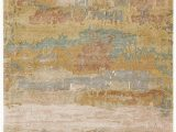 Blush and Gold area Rug Genesis Ges28