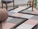 Blush Pink area Rug 5×7 Pin by Ellie Travis On Ковры своими руками