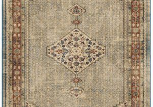 "Bohemian Rug Collection Ouman Blue thatch Amazon orian Rugs Ouman Blue thatch 2 3""x8 Furniture"