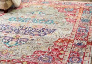 Bohemian Rug Collection Ouman Blue thatch Bohemian Styl Rug