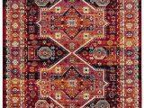 Brahim Red Black area Rug Carpetrunnersrogeroates Code
