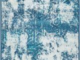 Brandt Blue area Rug Brandt Abstract Blue area Rug