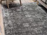 Brandt Gray area Rug by Mistana Brandt Dark Grey area Rug