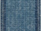 Brennen Blue area Rug Arabi oriental Blue area Rug