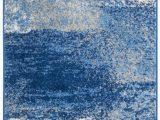 Brennen Blue area Rug Costa Mesa Abstract Silver Blue area Rug