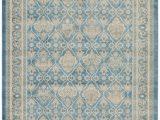 Bridgeport Light Blue area Rug Bridgeport Home Bellmere Bel4 Light Blue 7 X 10 area Rug