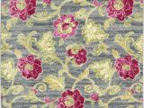 Bright Colored Floral area Rugs Waverly Aura Of Flora Aof02 Rug