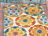 """Bright Colored Floral area Rugs Well Woven Francesca Bright Multicolor Indoor Outdoor Medallion Floral Pattern area Rug 5×7 5 3"""" X 7 3"""""""