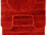Bright orange Bath Rugs Buy Casale Home 847431000069 Bright Nylon 3 Piece Bath Rug