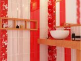Bright Red Bathroom Rugs 40 Bathroom Color Schemes You Never Knew You Wanted