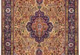 Brown and Blue Rugs for Sale Golden Tabriz Rug Gold Persian Carpet for Sale 2x3m Dr401