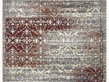 """Brown and Maroon area Rugs Artemis Collection Vintage oriental area Rug 1006a Burgundy 5 2"""" X 7 6"""" – Beverly Rug"""