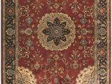 Brown and Maroon area Rugs Tabriz Hand Tufted Wool Burgundy area Rug