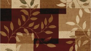 Brown and Maroon area Rugs United Weavers Studio 710 Sapphire Burgundy area Rug
