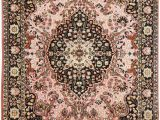 Brown and Pink area Rugs Pink Gumbh Traditional Wool area Rug
