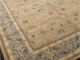 Brown Blue Tan area Rug Addison and Banks Hand Tufted Abr0577 Tan Blue area Rug Clearance