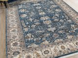 Brown Blue Tan area Rug Blue and Brown area Rugs