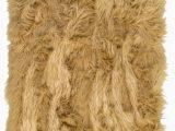 Brown Faux Fur area Rug Charlotte Faux Fur Light Brown area Rug